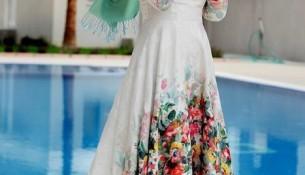 Gençler İçin Yazlık Tesettür Elbise Modelleri 2016