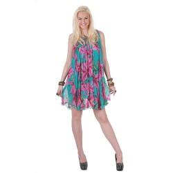 Yazlık Pileli Elbise Modelleri 2016