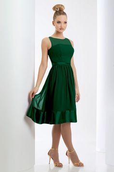 Yeşil Renkli Hoş Elbise Modelleri