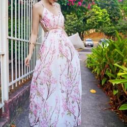 Yeni Sezon Çiçek Desenli Elbise Modelleri 2016