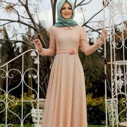 Yeni Sezon Yazlık Tesettür Elbise Modelleri 2016