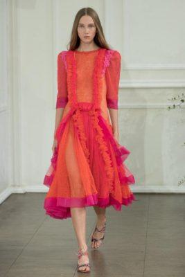 Londra Moda Haftası Bora Aksu Defilesi 2017