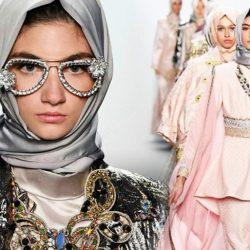 New York Moda Haftası 2017 İlkbahar _ Yaz Türbanlı Defile