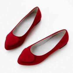 En Tatlı Kırmızı Ayakkabı Modelleri