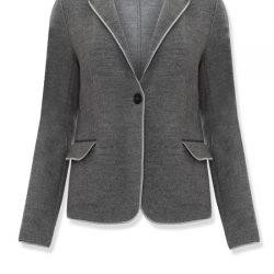 Tek Düğme detaylı Çok Şık Vakko 2016 - 2017 Bayan Ceket Modeli