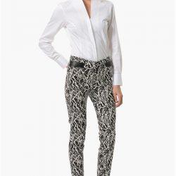 Beyaz Uzun Kollu Çok Şık Network Bayan Gömlek Modelleri