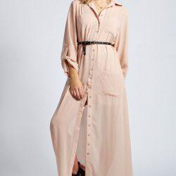 Çok Kibar ve Hoş Uzun Gömlek Elbise Modelleri
