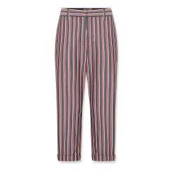 Çizgili Çok Şık Vakko Yeni Sezon Pantolon Modelleri