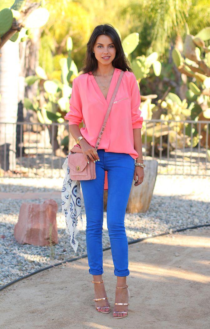 En Tatlı Duran Mavi Pantolon Kombinleri