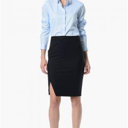 Mavi Renkli En Güzel NetWork Bayan Gömlek Modelleri