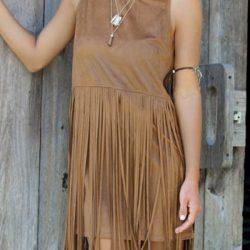Çok Hoş Püsküllü Elbise Modeli