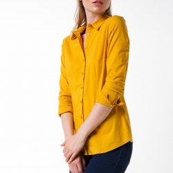 Sarı Renkli En Hoş DeFacto Gömlek Modelleri