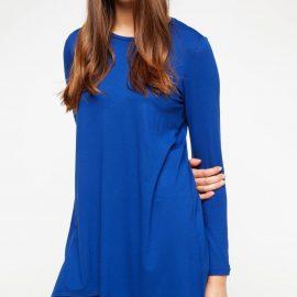 Mavi Renkli Çok Hoş Defacto Tunik Modeli