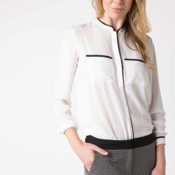 Cep Detaylı DeFacto Bayan Gömlek Modeli
