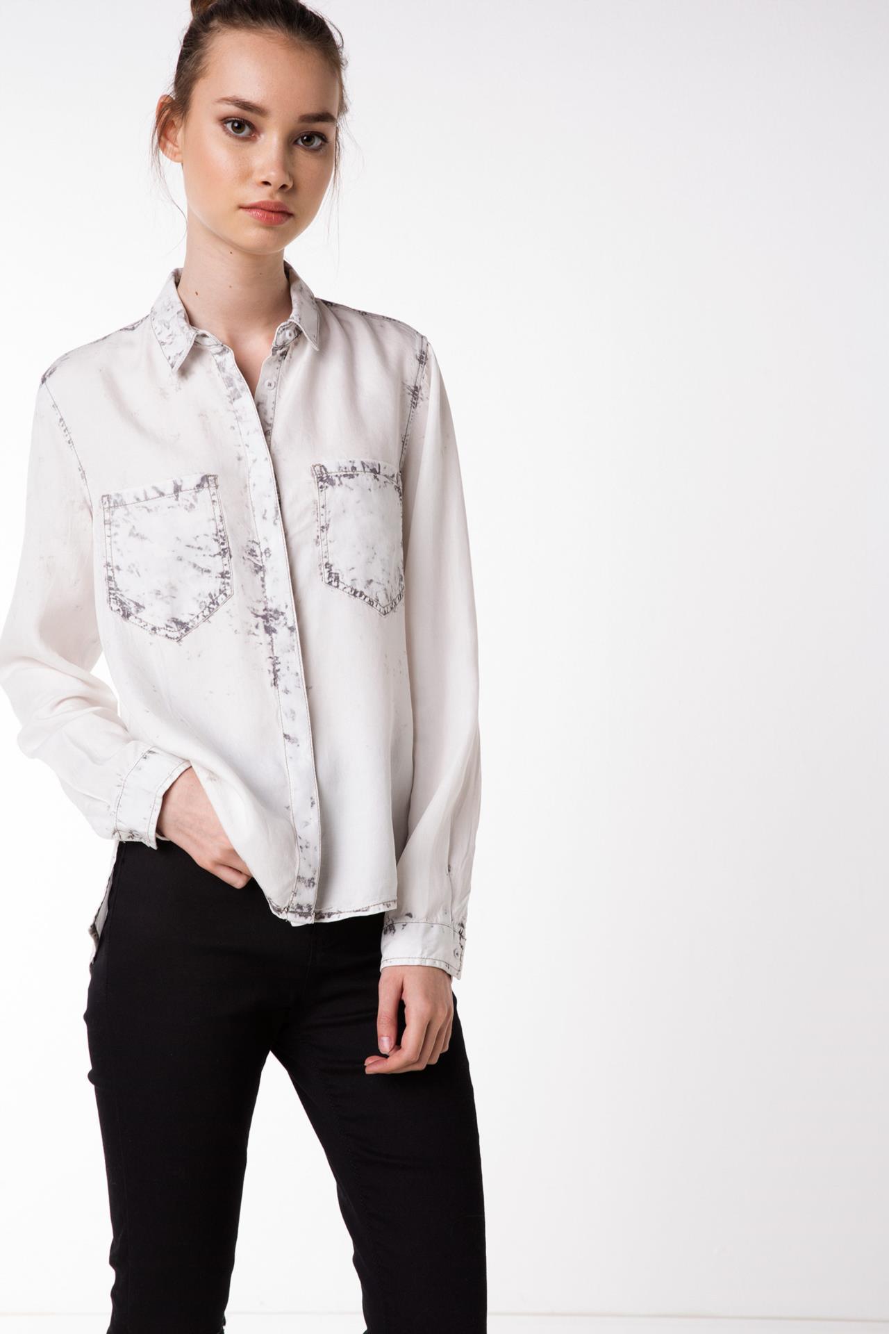 Çok Güzel ve Şık DeFacto Bayan Gömlek Modeli