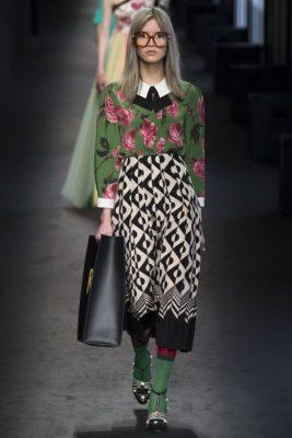 Gucci, 2017 elbise modelleri ile göz dolduruyor