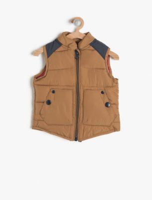 Koton Kışlık Bebek Yelek Modelleri 2017