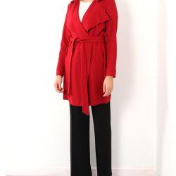 Kırmızı Renkli Kuşak Detaylı Ekol Kaban Modelleri