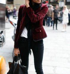 Sokak Modasında Öne Çıkan Kadife Ceket Modelleri