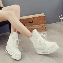 Yeni Moda Dolgu Topuklu Ayakkabı Modelleri 2017