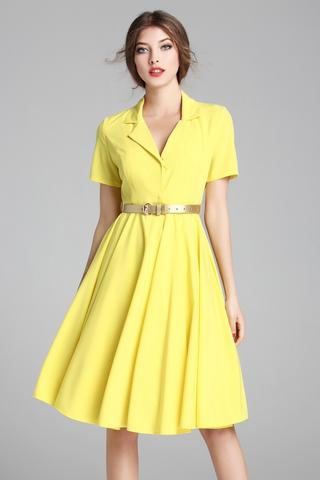 Beli Kemerli Elbise Modelleri 2017