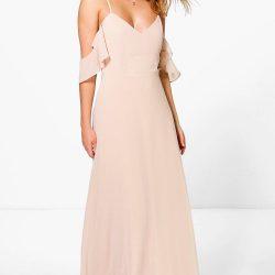 En Güzel Omzu Açık Elbiseler 2017
