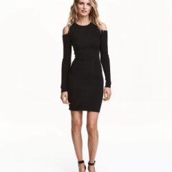 Omuzları Açık Elbise Modelleri 2017