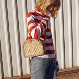 Sokak Modası Hasır Çanta Modelleri 2017