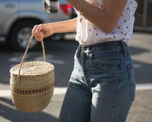 Yeni Trend Hasır Çanta Modelleri 2017