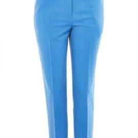 Yeni Trend Mavi Renkli Sigaret Pantolon Modelleri