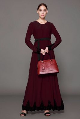 2018 Yeni Sezon Pileli Elbise Modelleri