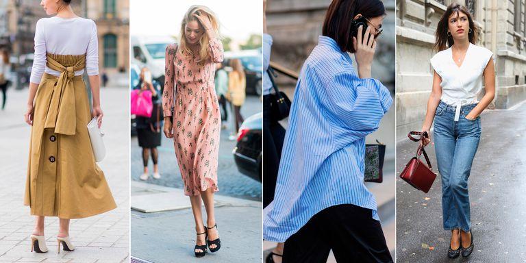 En Şık Sokak Modası Kombinleri 2018