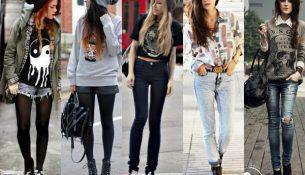 Genç Kız Sokak Modası 2018