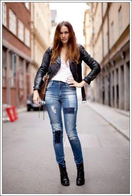 En Yeni Yamalı Kot Pantolon Modelleri 2019