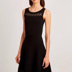 Lazer Kesim Kloş Elbise Modelleri 2019