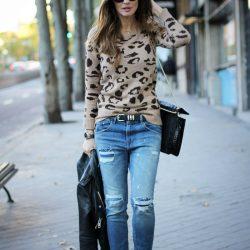 Sokak Modası Yırtık Kot Pantolon Modelleri 2019