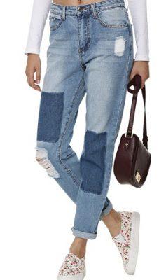 Yeni Sezon 2019 Yamalı Kot Pantolon Modelleri