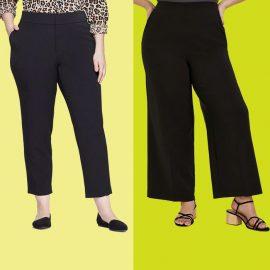 Kilolu kadınlar için en güzel pantolon seçimleri