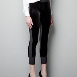 Siyah Yeni Kapri Pantolon Modelleri