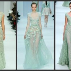 Şık Mint Yeşili Yazlık Elbise Modelleri