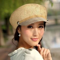 Farklı Yeni Hasır Şapka Modası