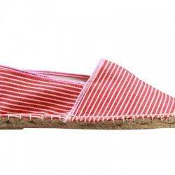 Çizgili Yazlık Bez Ayakkabı Modelleri