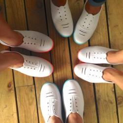 Beyaz Praiaz Ayakkabı Modelleri