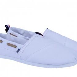 Beyaz Yazlık Bez Ayakkabı Modelleri