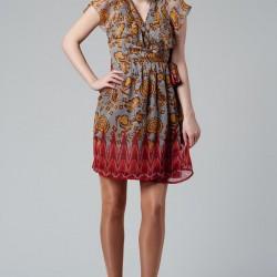 Desenli Yeni Mudo Elbise Modelleri