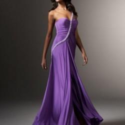 Drapeli Mor Yazlık Elbise ModelleriDrapeli Mor Yazlık Elbise Modelleri