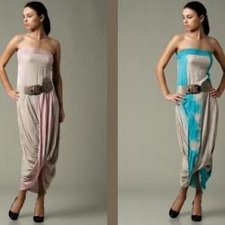 Farlı Batik Yazlık Elbise Modelleri