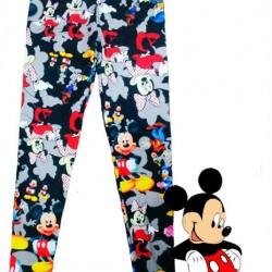 Mickey Mouse Desenli Yazlık Tayt Modelleri