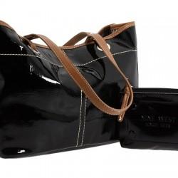 Siyah ve Taba Nine West Çanta Modelleri