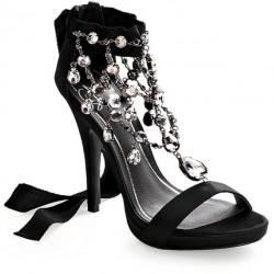 Taşlı Bantlı Ayakkabı Modelleri
